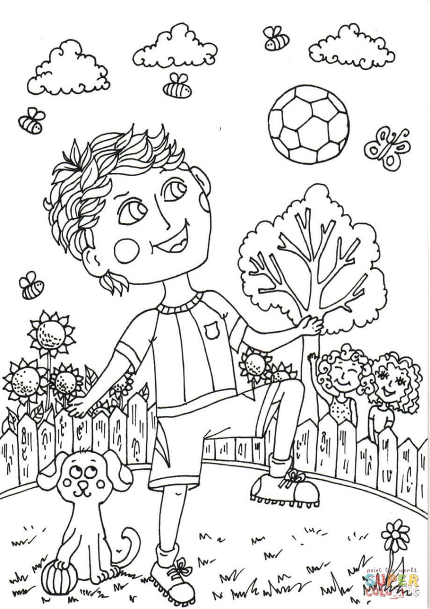 June Coloring Pages Peter Boy In June Coloring Page Free Printable Coloring Pages