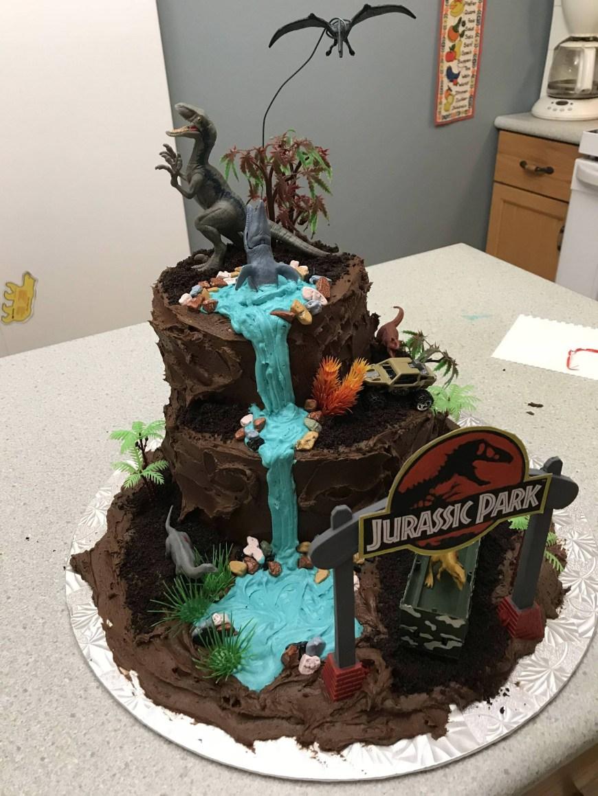Jurassic Park Birthday Cake Jurassic Park Birthday Cake Album On Imgur