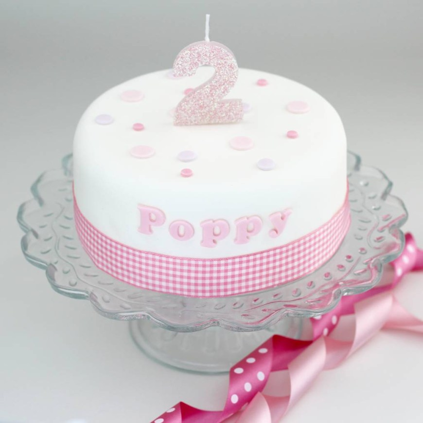 Ladies Birthday Cakes Personalised Girls Birthday Cake Decorating Kit Clever Little