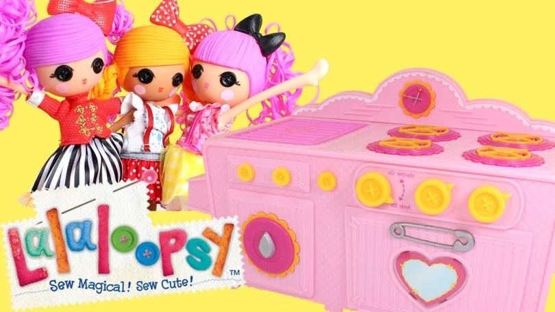Lalaloopsy Birthday Cake Lalaloopsy Baking Oven With Lalaloopsy Girls Making A Surprise
