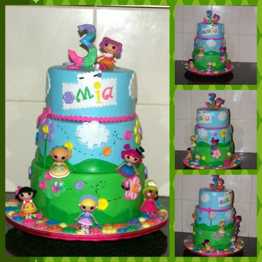 Lalaloopsy Birthday Cake Lalaloopsy Birthday Cake Cake The Custom Piece Of Cake Cakesdecor