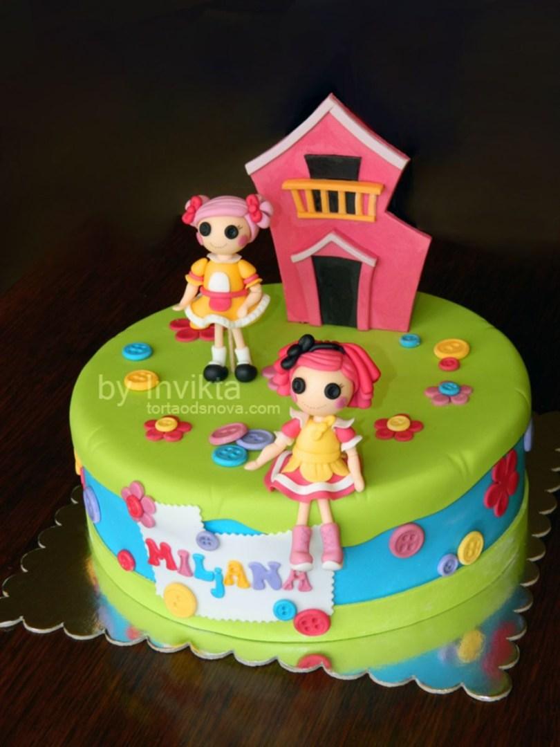 Lalaloopsy Birthday Cake Lalaloopsy Cake Recipes Pinterest Cake Cake Decorating And