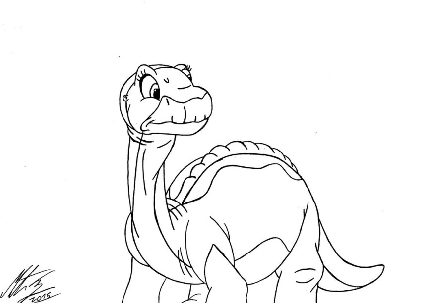 Land Before Time Coloring Pages Land Before Time Coloring Pages Littlefoot