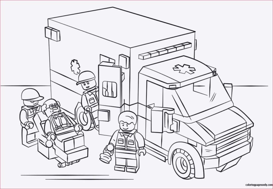 Lego City Coloring Pages Ausmalbilder Kostenlos Lego City Besten Ausmalbilder