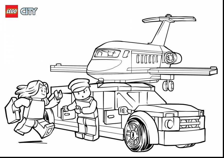Lego City Coloring Pages City Coloring Book Best Of Lego City Coloring Pages Free Collection