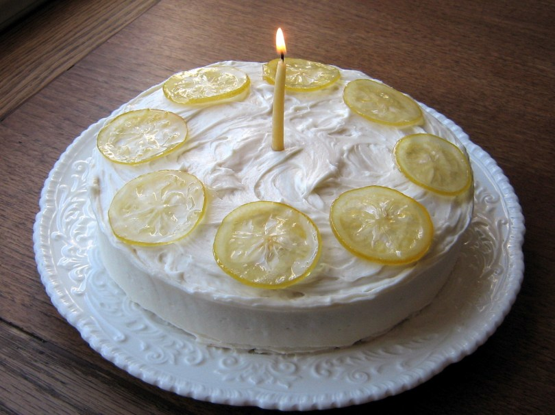 Lemon Birthday Cake Lemon Tastic Birthday Cake With Lemon Curd Filling And Candied