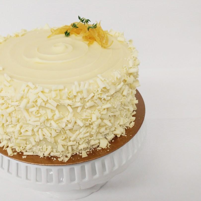 Lemon Birthday Cake Lemon Thyme Cake Thyme Again