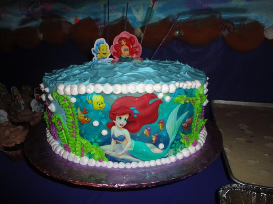 Little Mermaid Birthday Cake Little Mermaid Birthday Cake Little Mermaid Birthday Cake Flickr