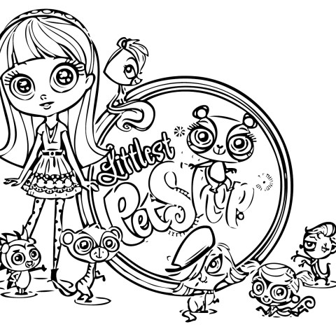 Littlest Pet Shop Coloring Pages Littlest Pet Shop Coloring Pages Best Coloring Pages For Kids
