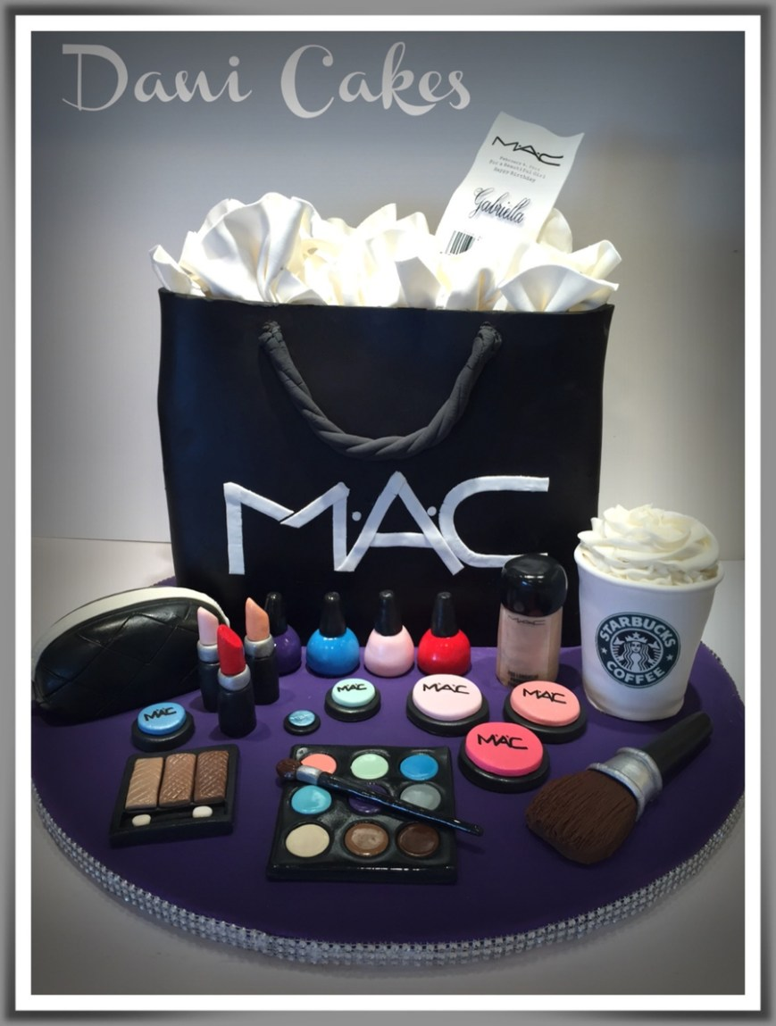 Makeup Birthday Cake Mac Cosmetic Birthday Cake Cakecentral