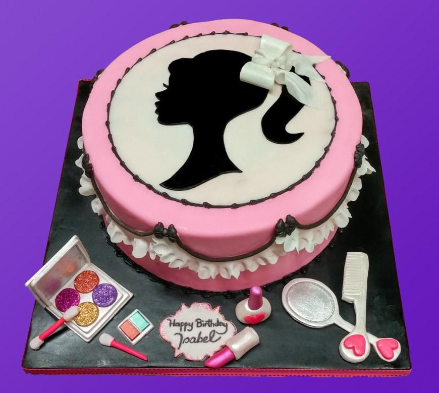Makeup Birthday Cake Makeup Birthday Cake Huascar Co Bakeshop