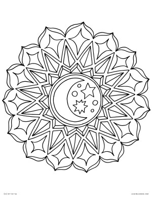 Mandala Coloring Page Coloring Pages