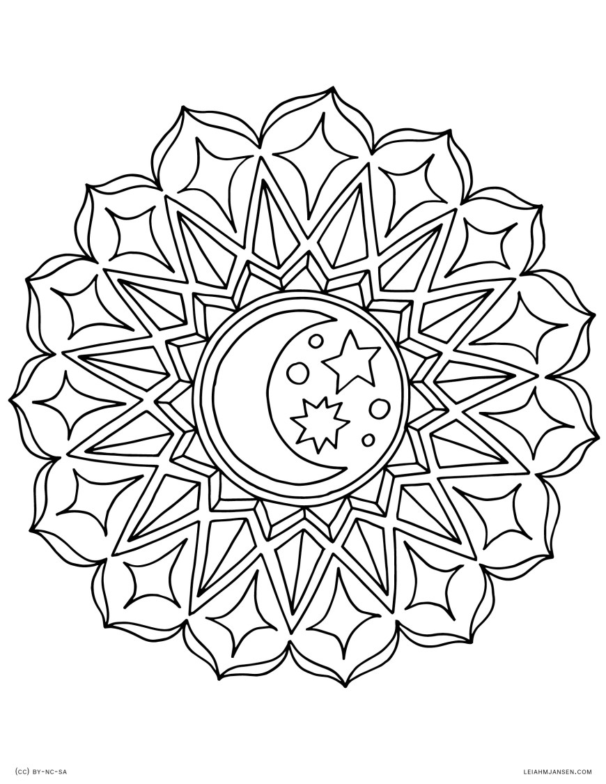 Mandalas Coloring Pages Coloring Pages