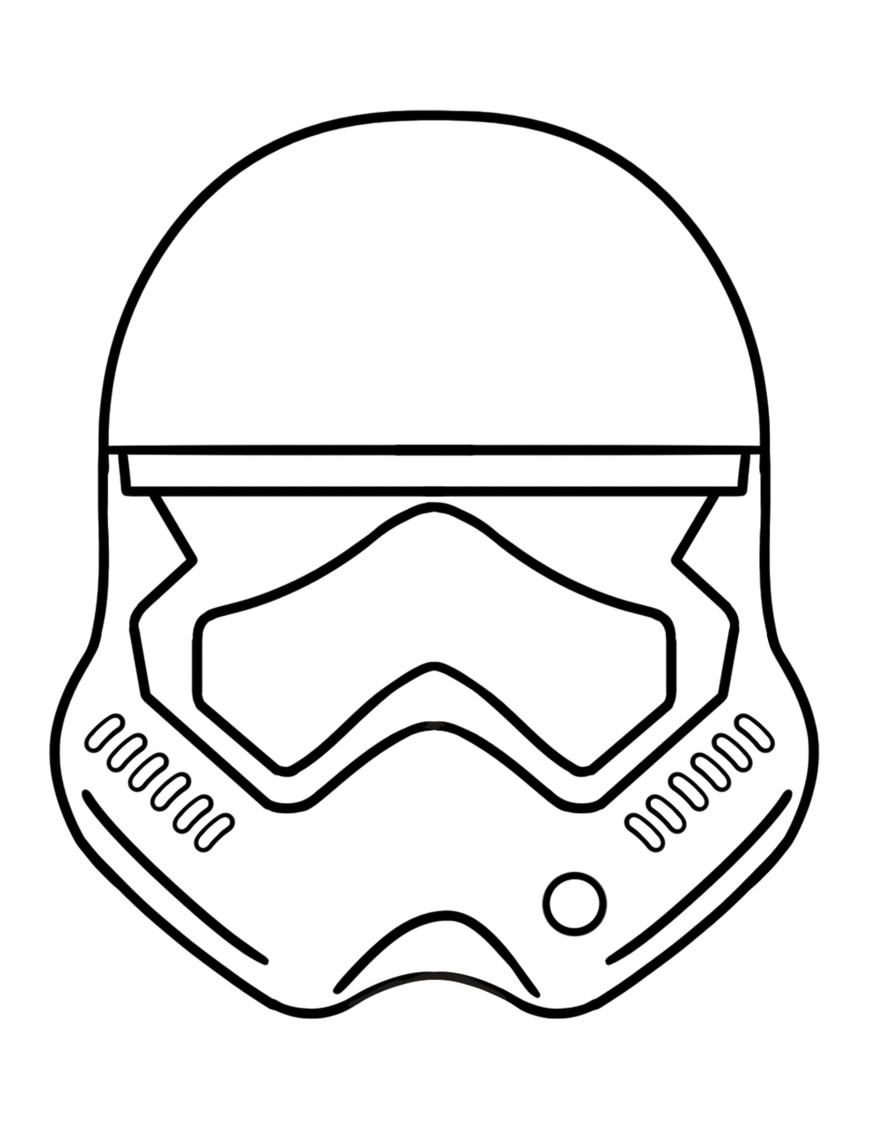 Mask Coloring Pages Best Darth Vader Mask Coloring Page Pages Beautiful Boba Fett Helmet