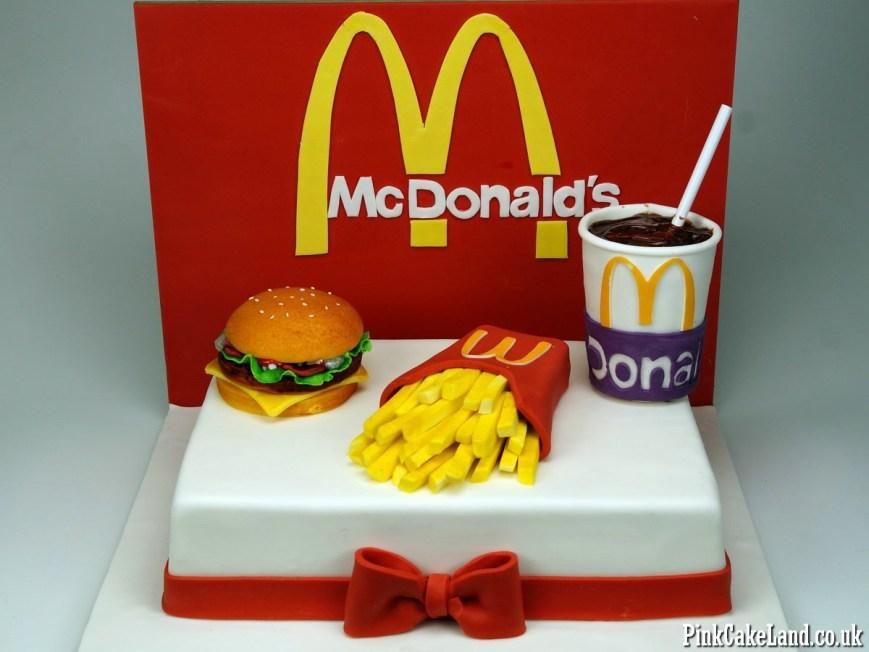 Mcdonalds Birthday Cake Birthday Cakes London