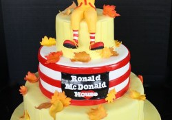Mcdonalds Birthday Cake Cake Created For Icing Smiles Delivered To The Nj Ronald Mcdonald