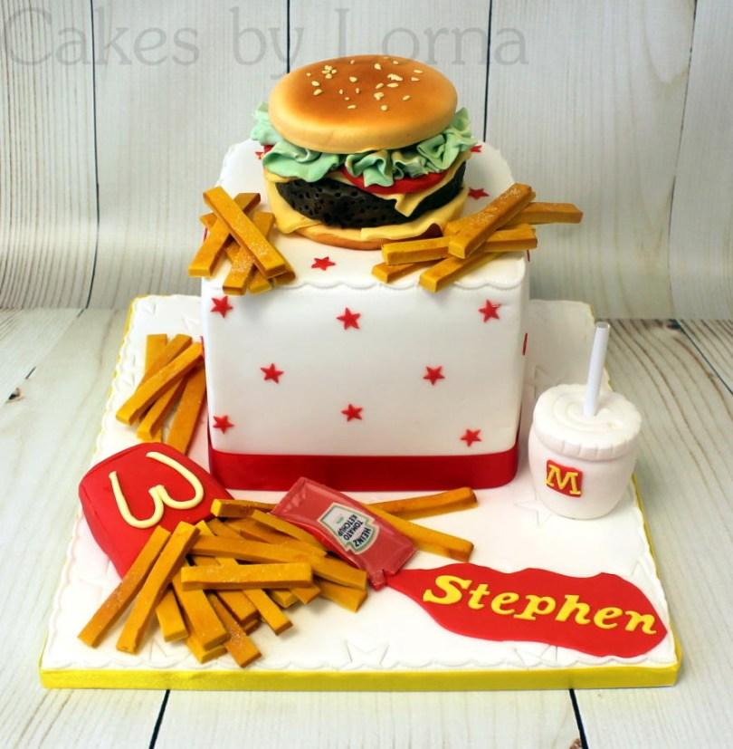 Mcdonalds Birthday Cake Mcdonalds Birthday Cakes