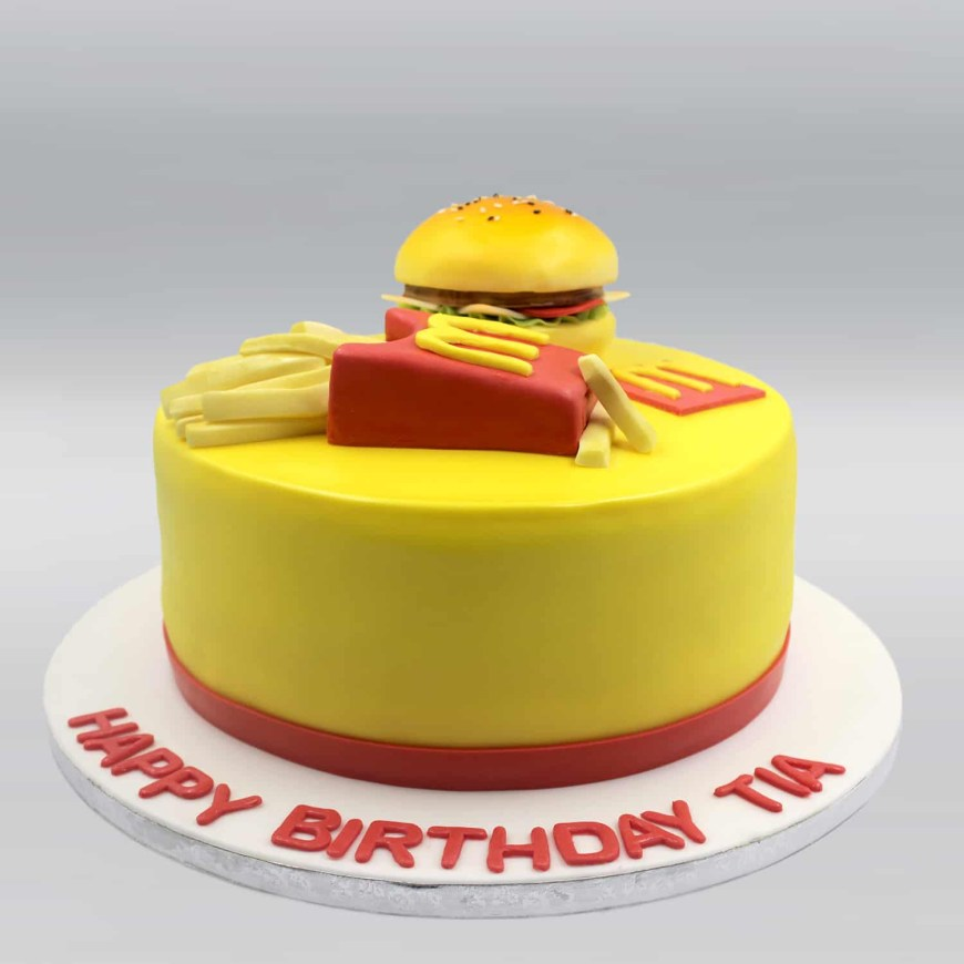 Mcdonalds Birthday Cake Mcdonalds Cake Mister Baker