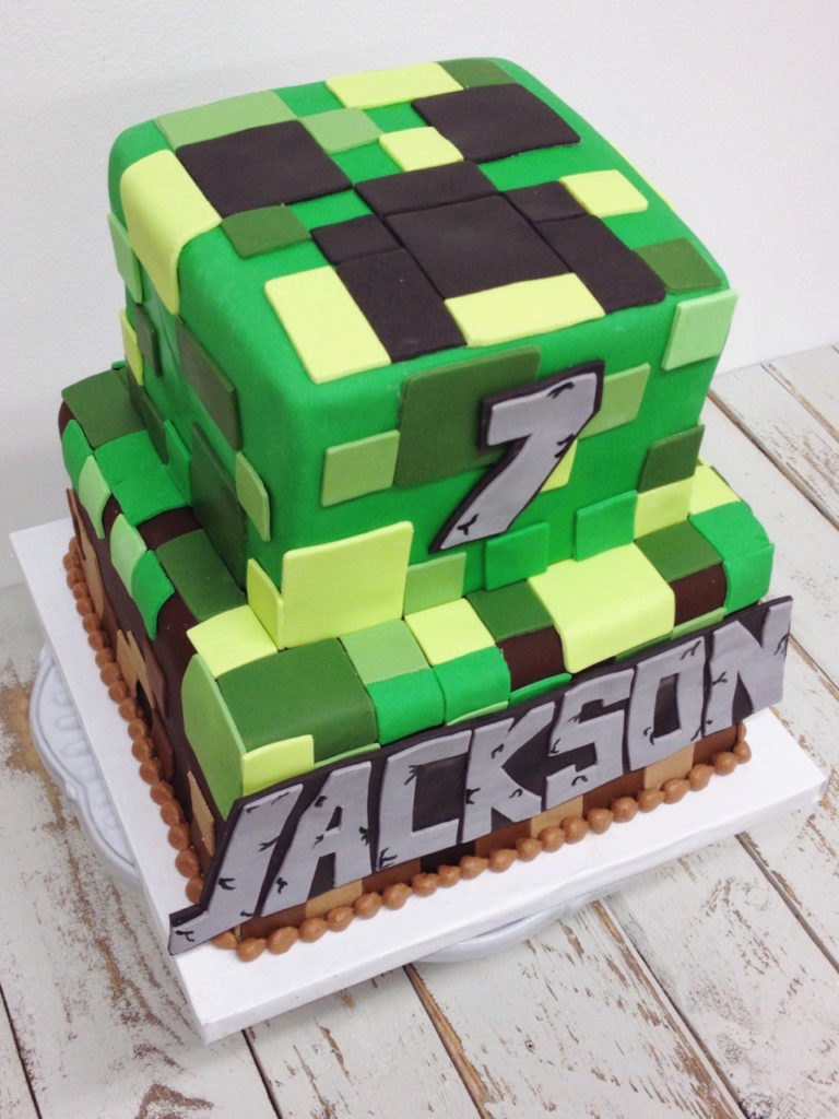 Minecraft Birthday Cake Ideas Nashville Sweets Minecraft Birthday Cake