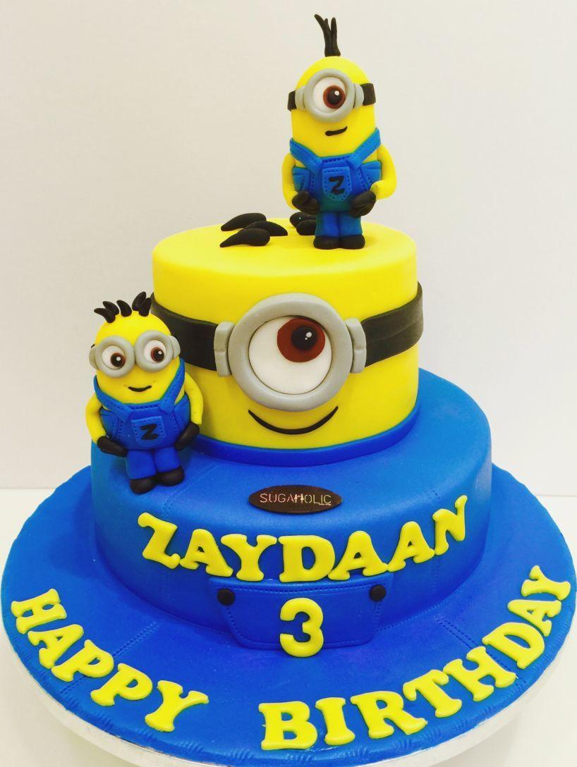 Minions Birthday Cakes Birthday Cake With Name And Photo Page 7 Amazingbirthdaycakescf