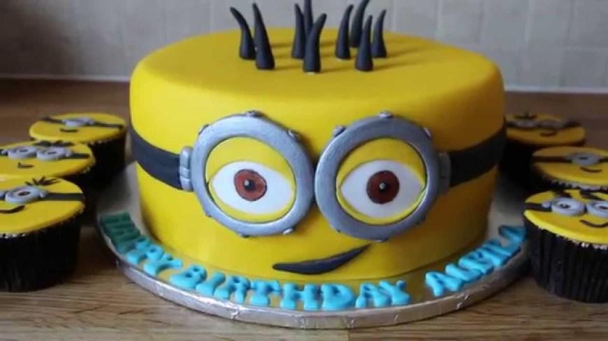 Minions Birthday Cakes Minion Birthday Cake Youtube