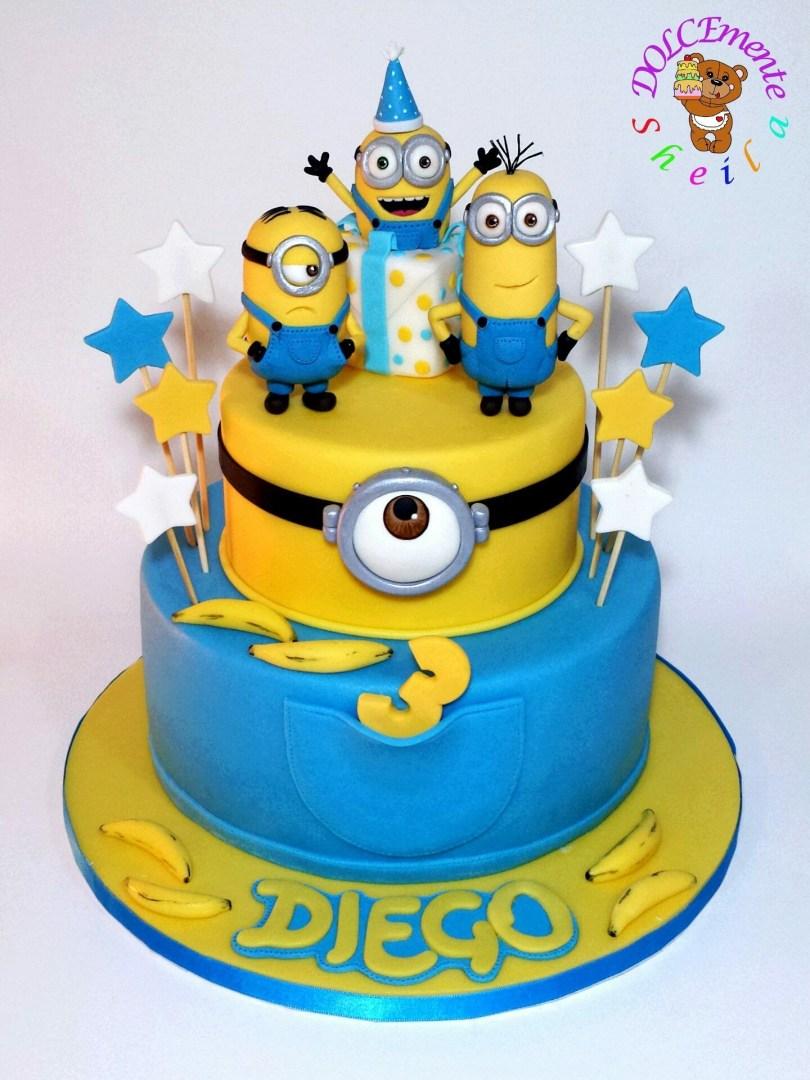 Minions Birthday Cakes Pin Von Beata Wick Auf Kinder Pinterest Cake Birthday Cake Und
