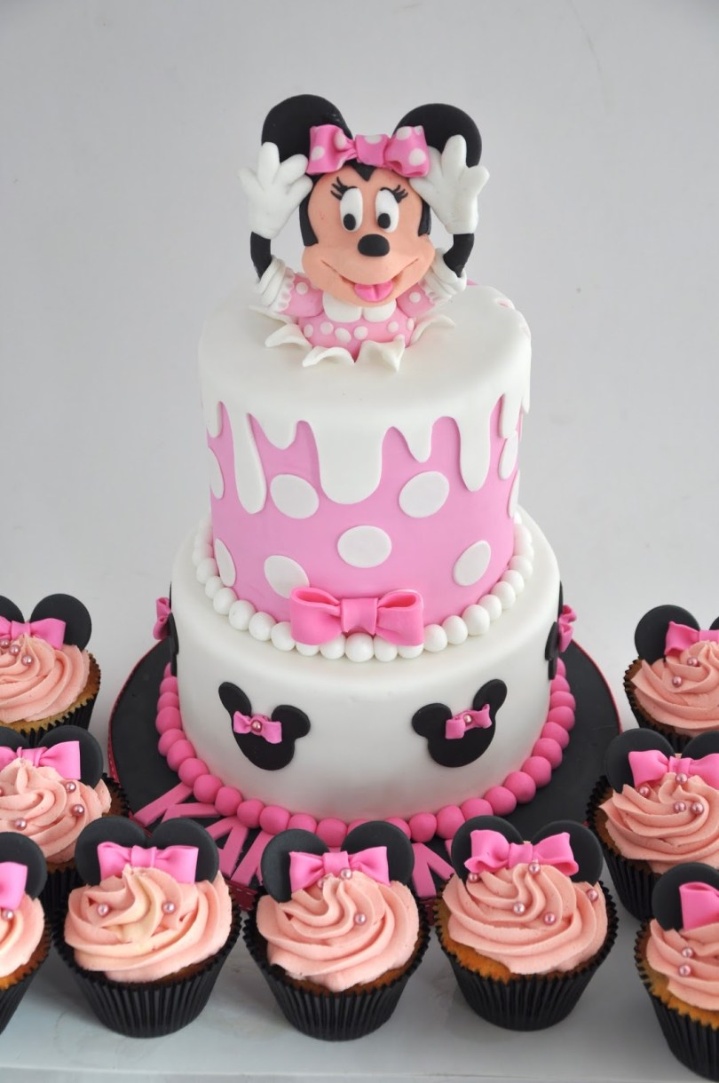 Minnie Mouse Birthday Cake Ideas Minnie Mouse Birthday Cakes To Buy Suitable Combine With Minnie