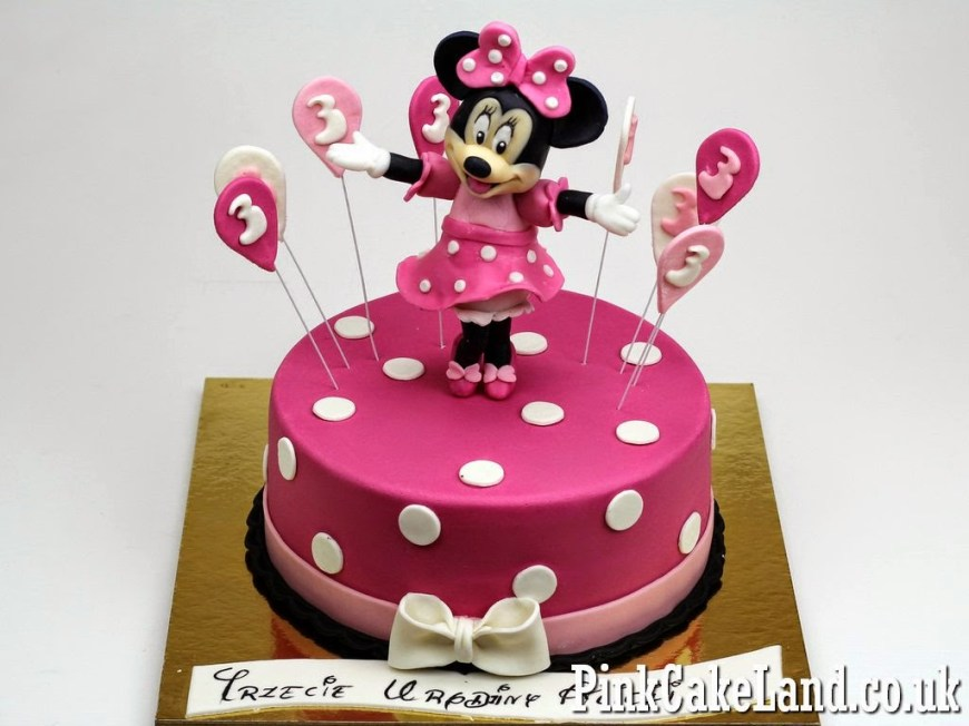 Minnie Mouse Birthday Cake Mickey Minnie Mouse Cakes