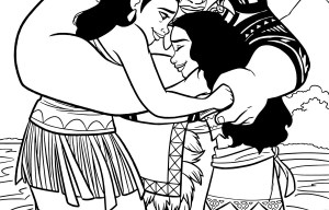 Moana Coloring Pages Pdf Ba Moanaloring Page More Sheets On Hellokids Pages For Free