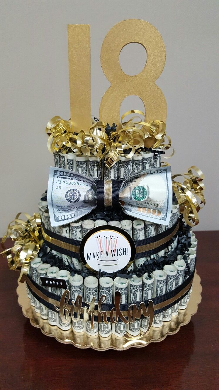 Money Birthday Cake Money Cake What A Perfect Gift Check Out My Facebook Page Simply