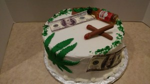 Money Birthday Cake Off The Beaten Path Personalized Cake Even The Money Is Edible