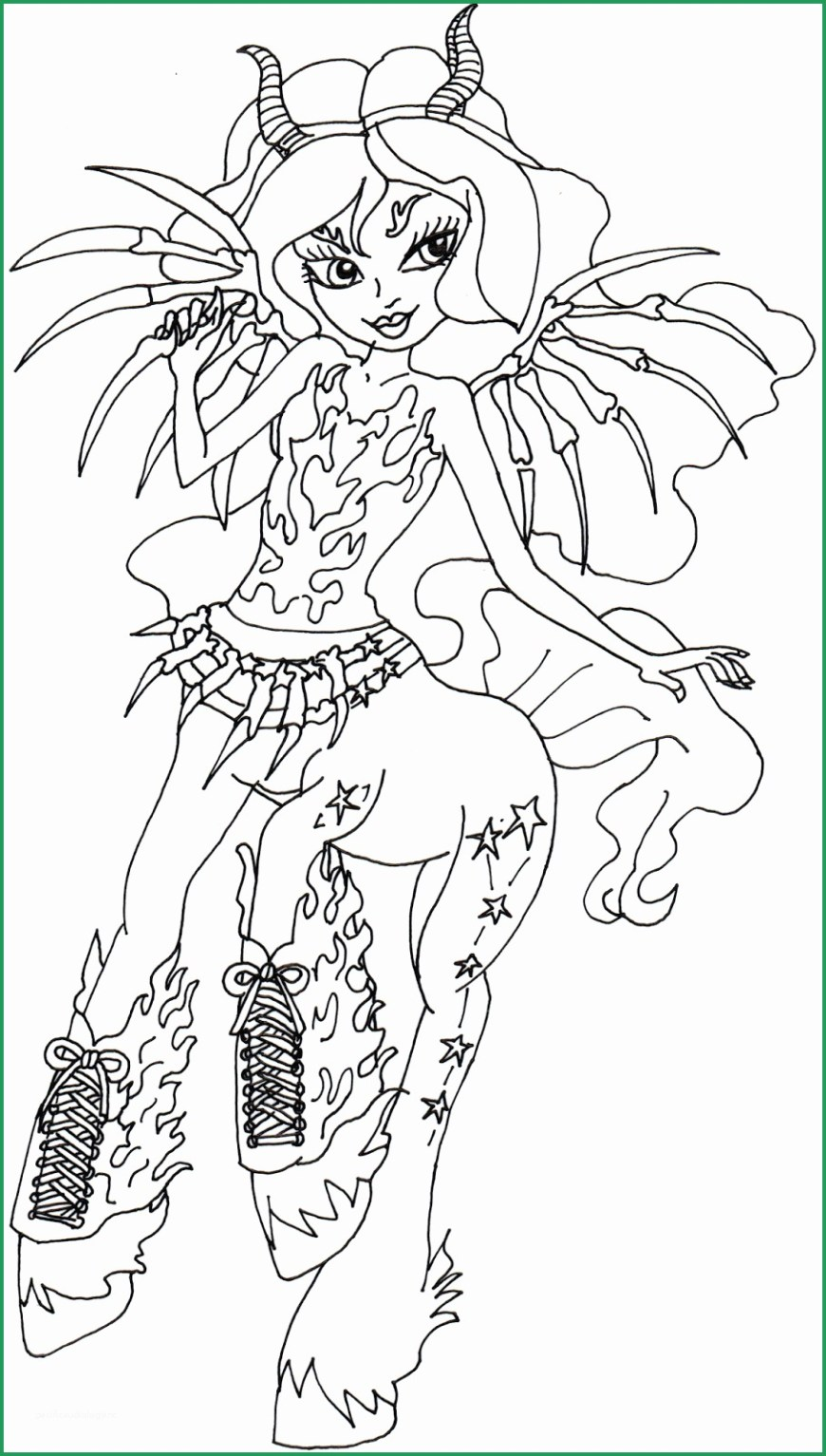 Monster High Coloring Pages Printable Monster Coloring Pages Beautiful Free Printable Monster High