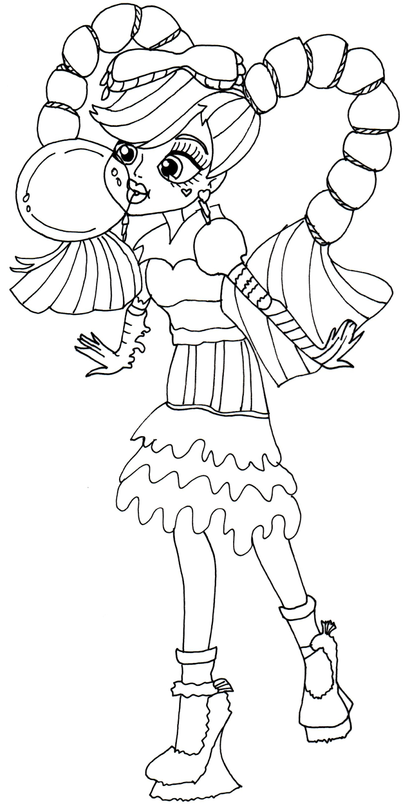 Monster High Coloring Pages Printable Monster High Coloring Pages 34 Free Printable Coloring Pages For