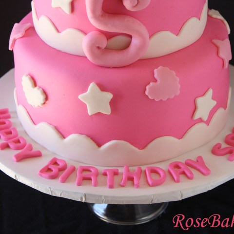 Name On Birthday Cake Hello Kitty Birthday Cake Bottom Name On Board Rose Bakes