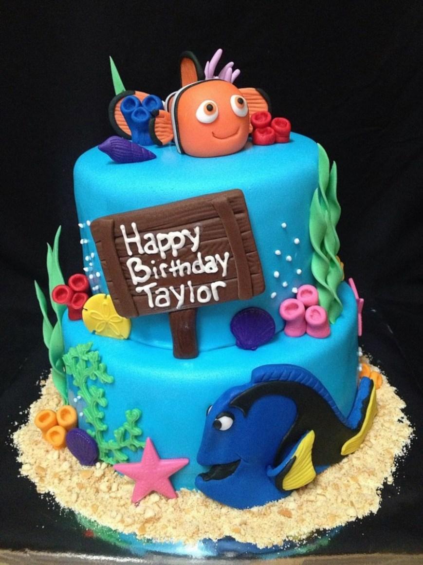 Nemo Birthday Cake Finding Nemo Birthday Cake Cakecentral