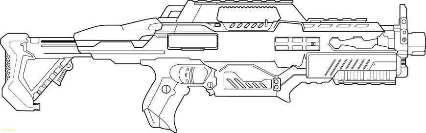 Nerf Gun Coloring Pages Nerf Gun Coloring Pages Coloring Pages For Kids