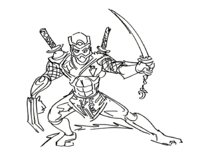 Ninja Coloring Page Coloring Page Awesome Japanese Ninja Coloring Pages Design