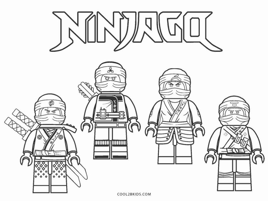 Ninjago Coloring Pages Free Printable Ninjago Coloring Pages For Kids Cool2bkids