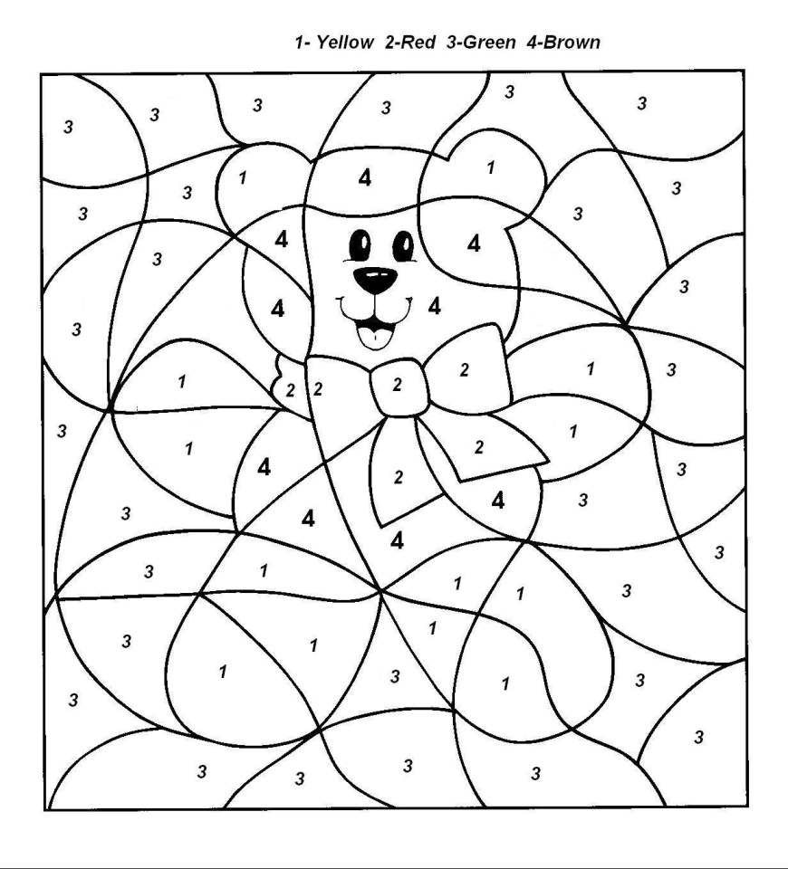 Number Coloring Pages Color Number Coloring Pages Neuhne