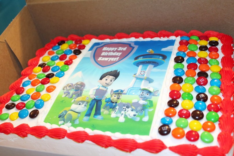 Paw Patrol Birthday Cake Ideas Amazing Paw Patrol Birthday Cake Walmart Cakes At Canada