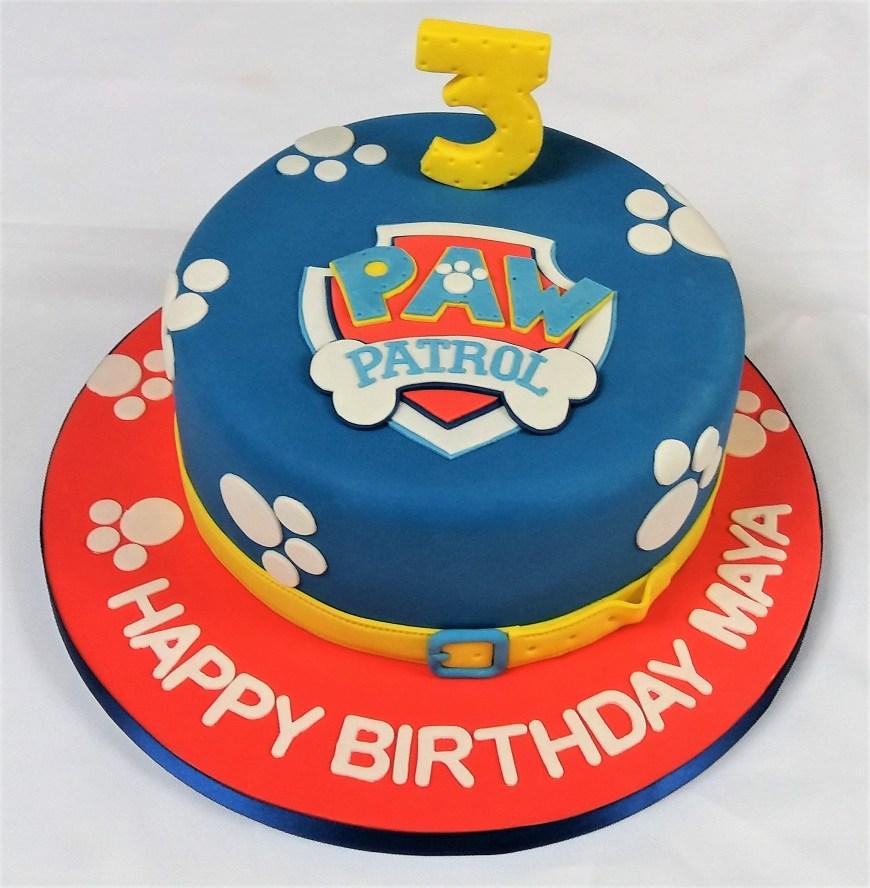 Paw Patrol Birthday Cake Ideas Paw Patrol Birthday Cake Bennetts Birthday Pinterest Paw