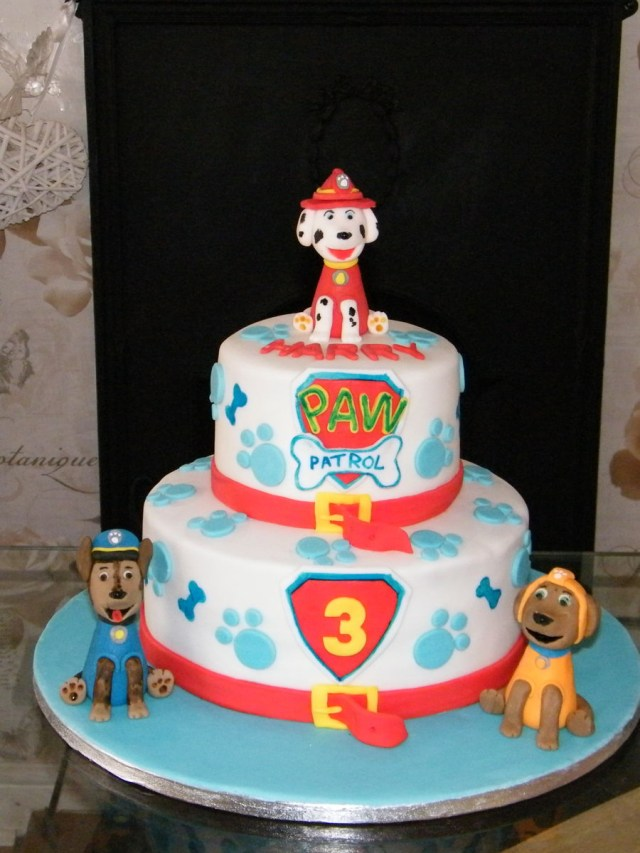 Paw Patrol Birthday Cake Ideas Paw Patrol Birthday Cake Cakecentral