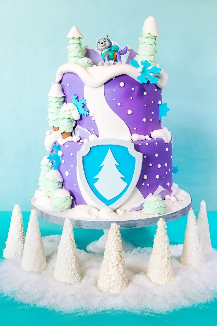 Paw Patrol Birthday Cake Ideas Throw A Paw Patrol Everest Birthday Party Nickelodeon Parents