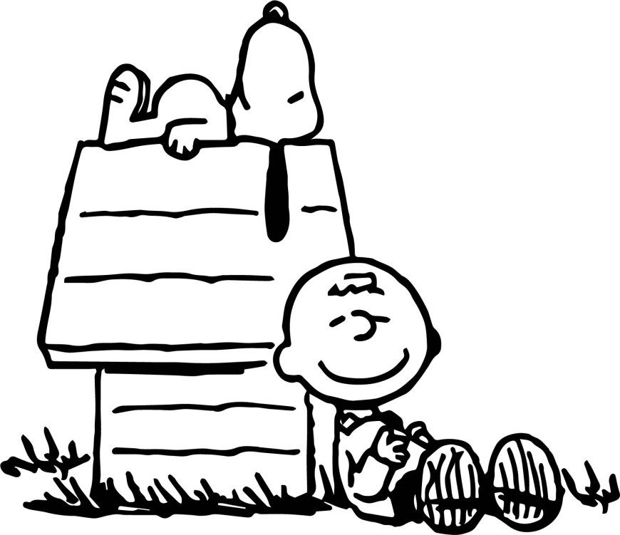 Peanuts Coloring Pages Snoopy Charlie Brown Peanuts Coloring Pages Wecoloringpage