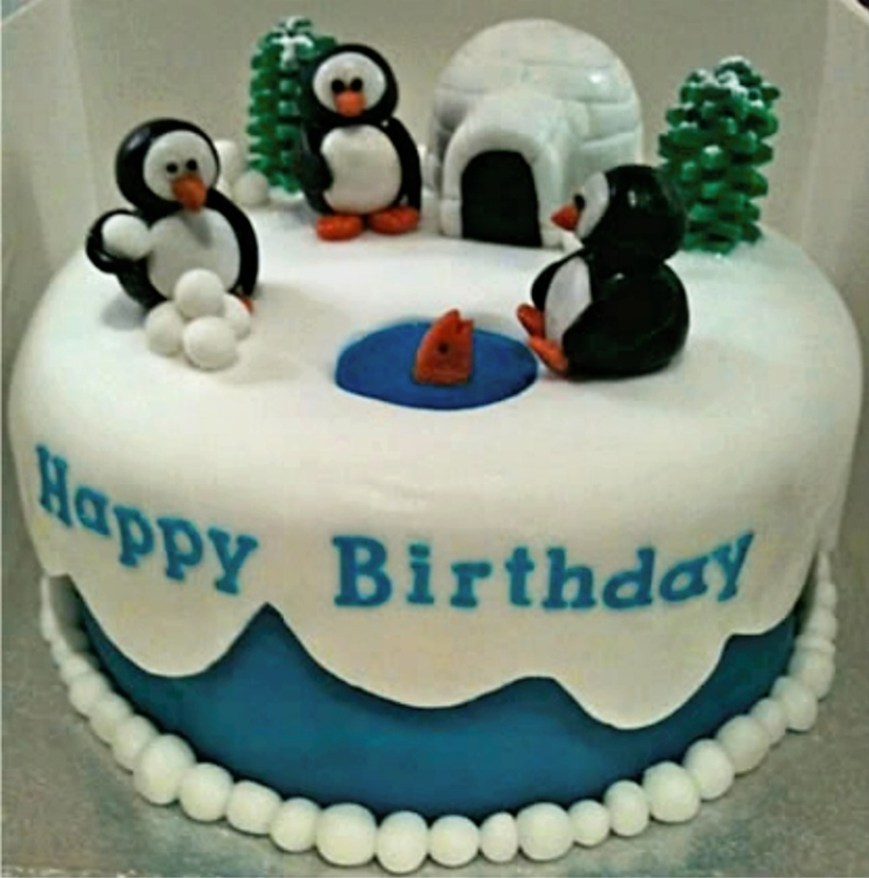 Penguin Birthday Cake Penguin Birthday Cake Cakecentral