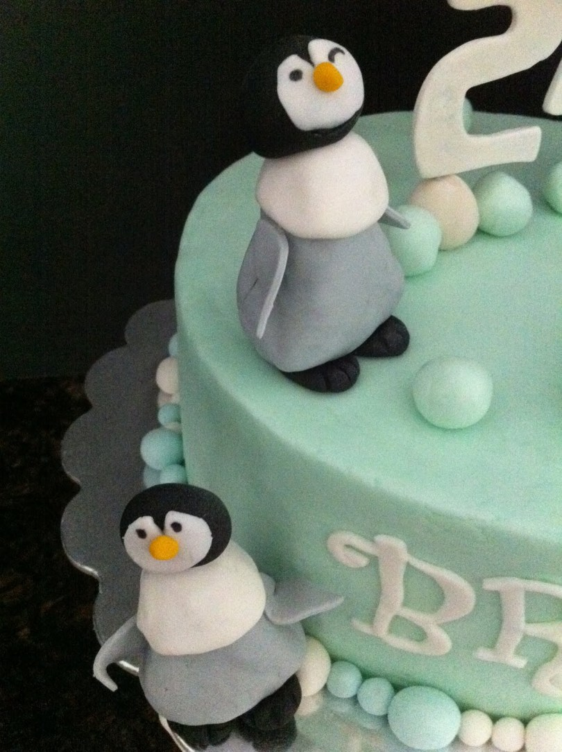 Penguin Birthday Cake Penguin Birthday Cake My Sweet Zepol