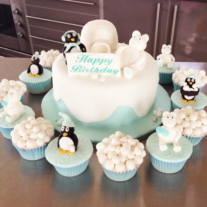 Penguin Birthday Cake Penguin Birthday Cake Patricia Creative Cakes