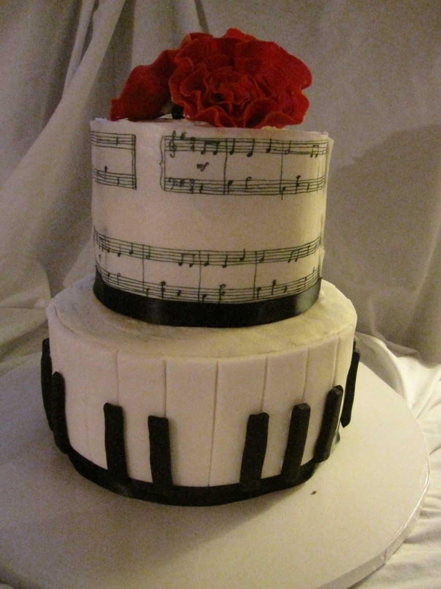 Piano Birthday Cake Piano Birthday Cake Cakecentral