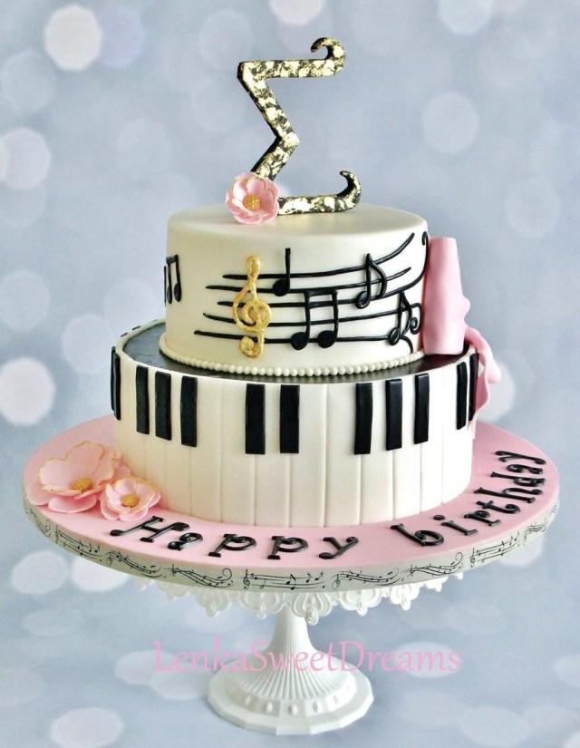 Piano Birthday Cake Piano Music Cake Cakecentral