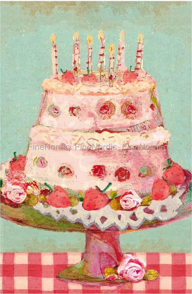 Picture Of Birthday Cake Maileg Birthday Cake Kleine Karte